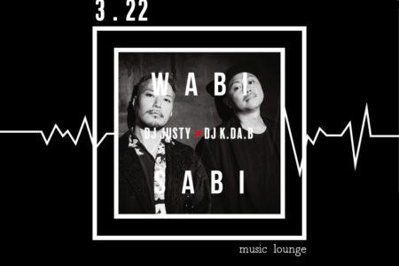 Event info ~ 2020.3.22sun wabisabi ~